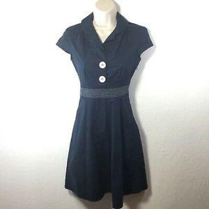 Ruby Rox Blue Retro Dress